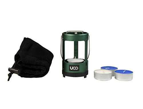 UCO Mini Candle Lantern Kit Value Pack with 4 Candles and Storage Bag