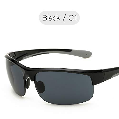al la Black Mjia Color Gafas Deportivas nbsp;Deportivas Aire película nbsp;Gafas nbsp;Sol de sunglasses Rojo en de Pesca de Gafas la Hombre de Playa Libre Negro la de Moda Vidrios RffrXqBWO