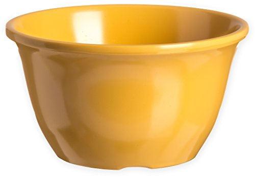 Carlisle 4305022 Durus Melamine Bouillon Cup, 11 Oz., Honey Yellow (Pack of 48)