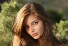Women Redheads Models Metart Magazine People Freckles Indiana A Mouse Pad Mousepad 10 2 X
