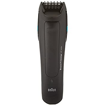 Braun BT5050 Men's Beard Trimmer, 25 Lengths Settings for Precision, Cordless and Rechargeable Electric Cutting Machine for Facial Hair