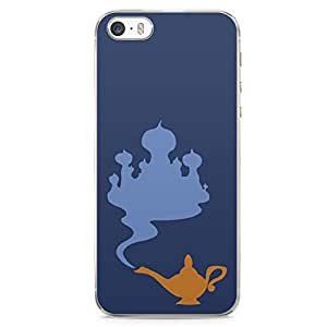 Loud Universe Aladdin and Jasmine Palace Genie Lamp iPhone 5 / 5s Case Aladdin Classic Cartoon Network iPhone 5 / 5s Cover with Transparent Edges