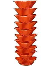 برج زراعة رأسي - 10 أدوار - يسع 30 نبات