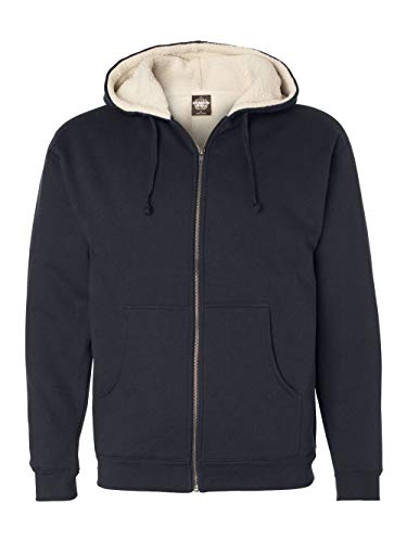 ITC Mens Sherpa Lined Sweatshirt EXP40SHZ - Navy/Natl - XX-Large from Independent Trading Co.