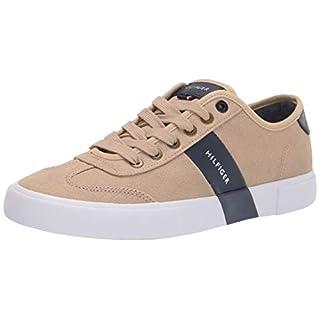 Tommy Hilfiger Men's Pandora Sneaker, Khaki, 11.5