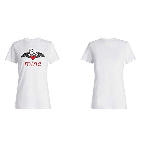 Nuevo Be Mine Gift Funny Novedad camiseta de las mujeres a8f