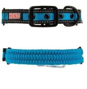 KONG Paracord Reflective Dog Collar