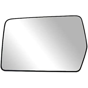 Fit System 88194 Driver Side Non-heated Replacement Mirror Glass with Backing Plate