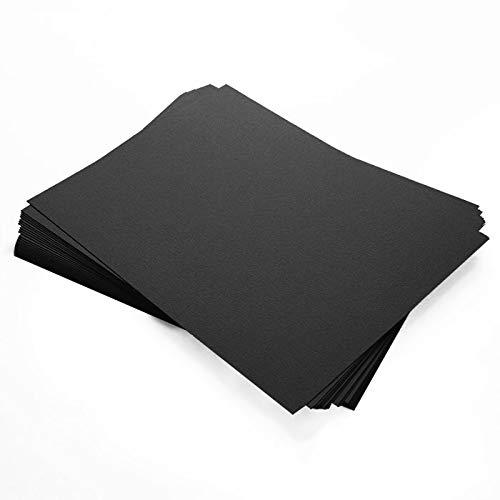 Stardream Onyx Metallic Paper - 8 1/2 x 11, 81lb Text, 25 Pack