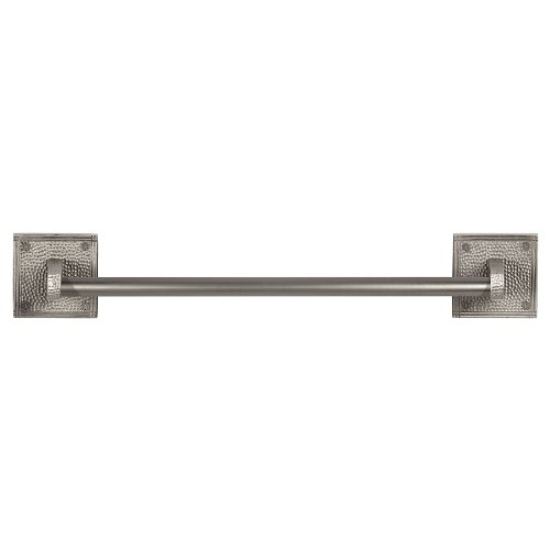 The Copper Factory CF131SN Solid Copper 18-Inch Towel Bar wi