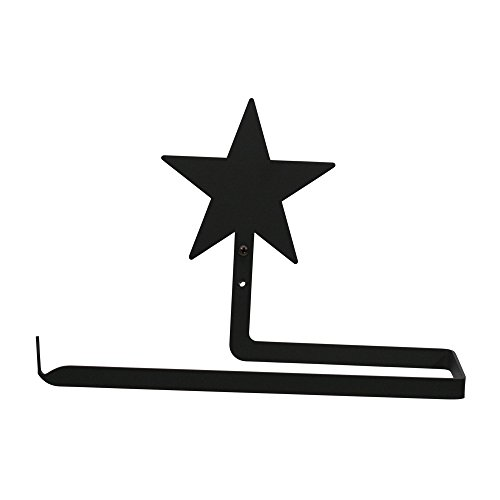 Village Wrought Iron Star Paper - Paper Towel Holder Hori...