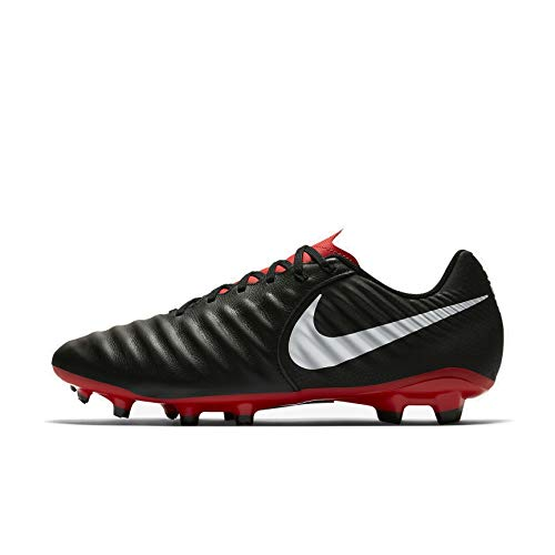 NIKE Tiempo Legend 7 Academy FG Soccer Cleat (Black/Mild Crimson) (Males's 6.5/Women's eight) – Sports Center Store