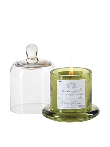 apothecary-guild-candle-jar-with-glass-dome-olive-flower-small