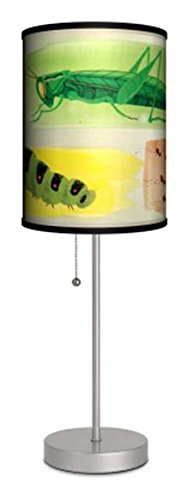 Caterpillar Lamps and Lighting, Contemporary Modern Table Lamp, Living Room or Desk - Adults / Teens by Lamp in a Box