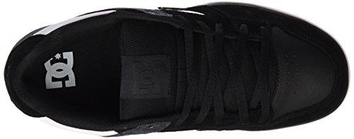 DC Shoes Pure Se M, Zapatillas de Skateboarding para Hombre Negro (Black / White)