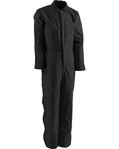 - Berne Men's Deluxe Insulated Coverall, Black Small/Regular