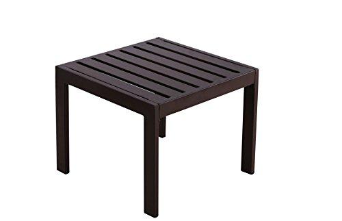 Serta Catalina Outdoor Side Table, Bronze Bronze Catalina Catalina Deck