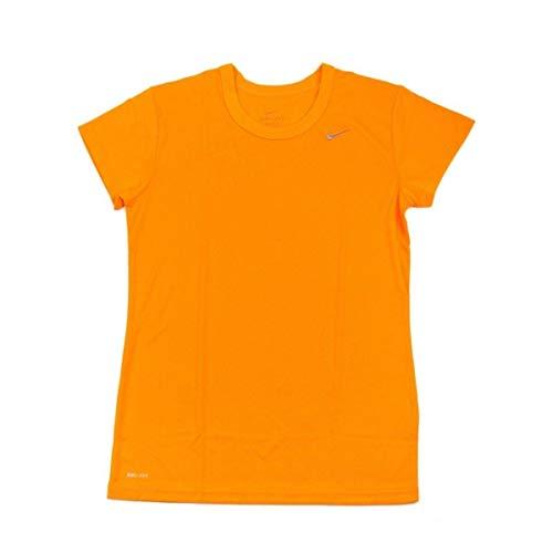 (NWT Nike Women's Short Sleeve Performance Tee Shirt 349014-727 Gold SZ Large)