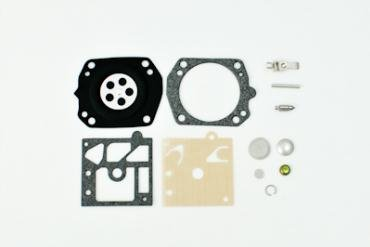 Walbro Complete Carburetor Rebuild Repair Kit Part Number K22-HDA. Includes gaskets, Diaphragm, Welch Plug, Screen, Needle, and Inlet Lever.