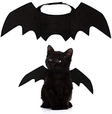 DIIYer-Bu Alas de murciélago para Mascotas, Disfraz de Halloween ...