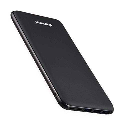 Charmast 26800mAh Powerbank Externer Akku Typ C Micro USB Slim Ladegerät mit...