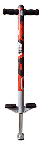 Pogo Stick for Kids - for Kids 5,6,7,8,9,10 Years Old & Up to 90lbs (36kgs) - Awesome Fun Quality Pogo Stick for Boys & Girls by ThinkGizmos (Red & Black)