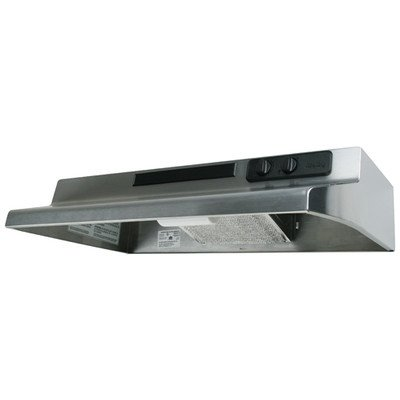 Air King Designer Series Under Cabinet Range Hood, 30 Inch Wide