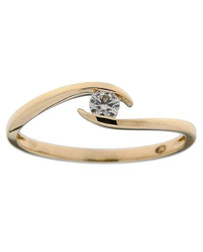 Bague Or 750 Diamant ref 42599