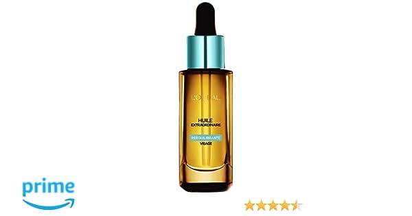 Aceite extraordinario reequilibrante LOréal Paris para pieles normales a mixtas, 30 ml.