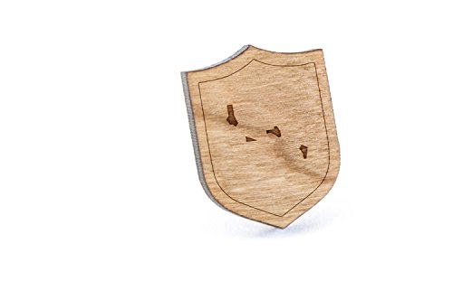 Price comparison product image Archipelago Lapel Pin, Wooden Pin