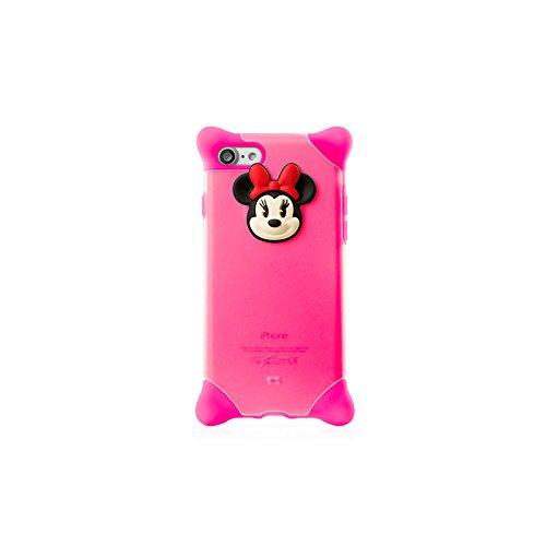 新型 iPhone7 ケース PH16101 Disney ディズニー かわいい シリコンケース 耐衝撃【日本正規総代理店】 (ミニー(ピンク))