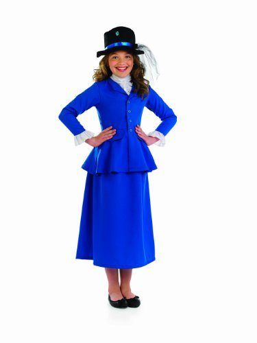 [Fun Shack Child Mary Poppins Costume - AGE 4 - 6 YRS (S) by Fun Shack] (Mary Poppins Costume Child)