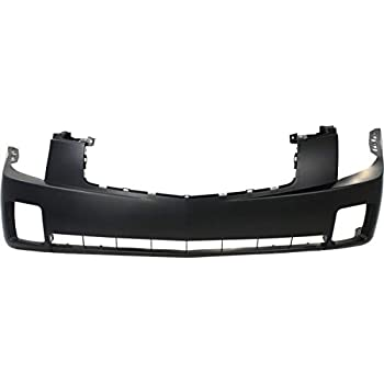Bumper Cover For 2007-2011 Dodge Nitro Front Textured With Fog Light Holes