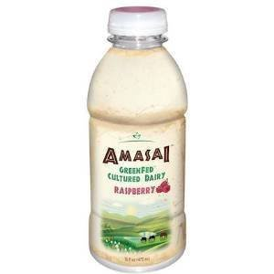 AMASAI Whole Milk Raspberry 6, 16 oz. bottles - 4 Pack by Beyond Organic
