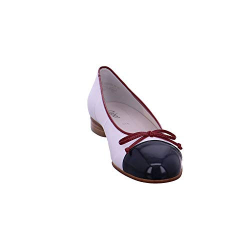 cherry Femme Gabor Ballerines marine weiß Bleu Basic 20 Shoes fCxqCw10