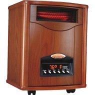 English Oak Comfort Furnace Heater UV