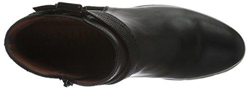 Hispanitas Loira - Botas cortas para mujer Negro (Soho-I6 Black Crosta-I6 Black Lizard-I6 Black)