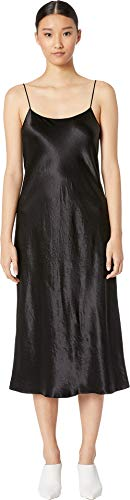 Vince Women's Slip Dress Black Medium