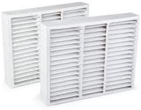 Actual Size: 20 x 19-3//4 x 4-3//8 Comp X0585 Air Filter 2-Pack Lennox FiltersFast Compatible Replacement 20 x 20 x 5