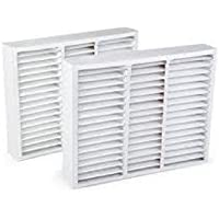 FiltersFast Compatible Replacement for Lennox 20 x 20 x 5 (Actual Size: 20 x 19-3/4 x 4-3/8) Comp X0585 Air Filter 2-Pack