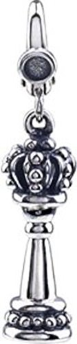 Chess Piece Charm in Sterling Silver