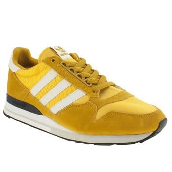 yellow adidas trainers men