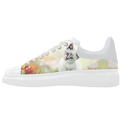 Custom Gatti di pittura Womens Canvas shoes Le scarpe le scarpe le scarpe.