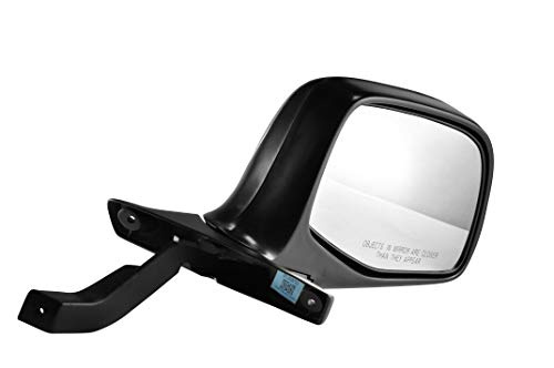 Passenger Side Chrome Cover Side View Mirror for 1992-1996 Ford F-150 F-250 & Bronco, 1992-1997 Ford F-350, F Super Duty, F59, F53, 1997 Ford F-250 - 1992 Ford