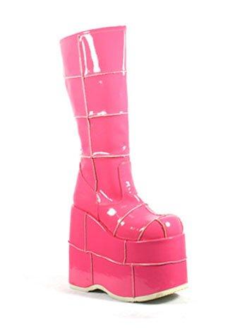 443ec5047bf Hot Pink High Wedge Spice Girl Platform Boot Size  Mens 11