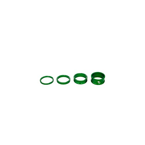 Wolf Tooth Components Headset Spacer Kit Green, One Size