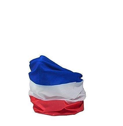 Ruffnek Bandiera di Francia Francese Tricolore Multifunzionale Scaldacollo 2b5a501afe64