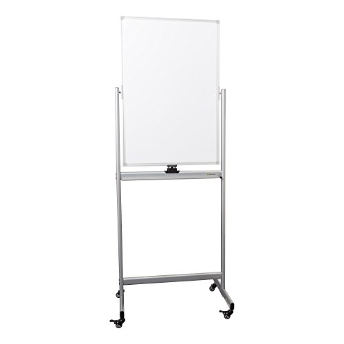 Learniture Double-Sided Mobile Magnetic Markerboard, 3' W x 2' H, White, LNT-RCE-3049-PK-SO by School Outfitters
