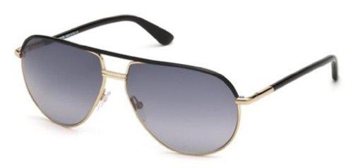 Sunglasses Tom Ford FT0285 01B shiny black / gradient smoke