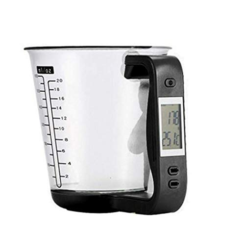 Kitchen scales Mutifunctional Measuring Cup Scales LCD Display Digital Electronic Tool Scale Temperature Measurement Cups Kitchen Gadgets tools Smart scale